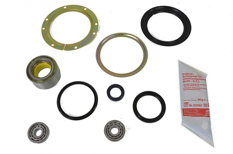 Axle king-pin + axledrive bearing rebuild set Suzuki Jimny