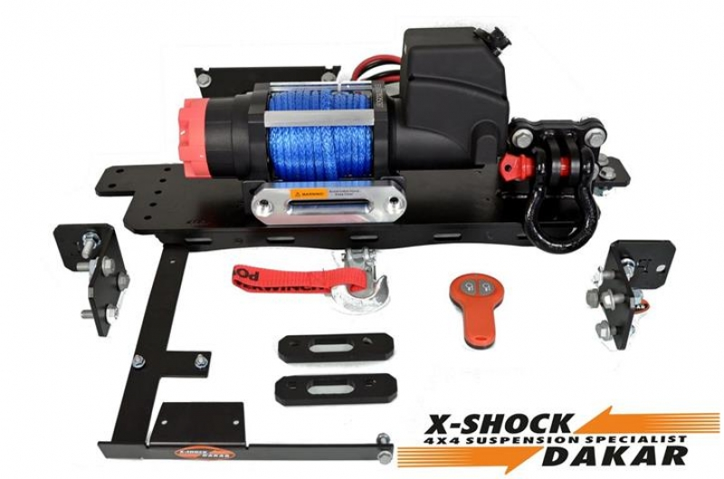 Suzuki Jimny 2015-18 6000 lbs winch kit