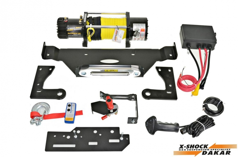 8000 lbs Winch Installation Combo Set