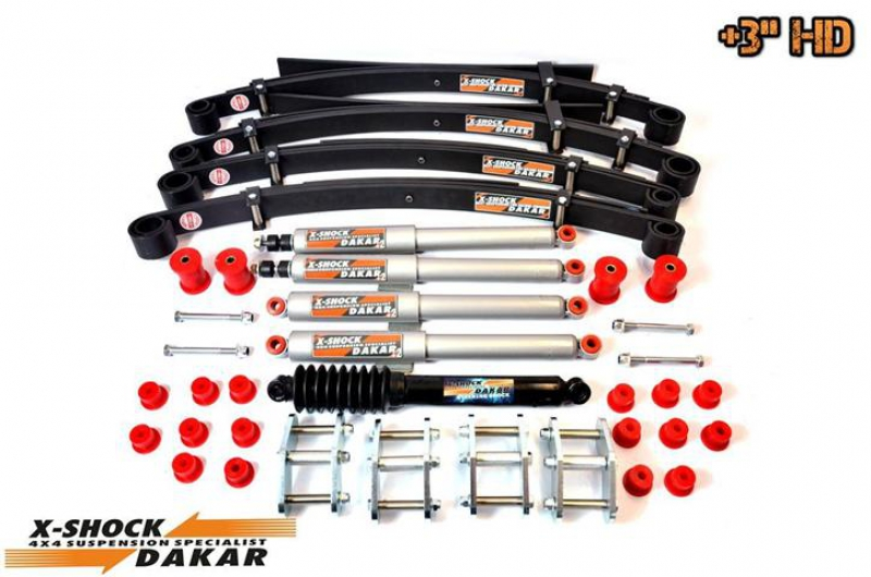 +3'' LIFT KIT HD PREMIUM FULL SUZUKI SAMURAI
