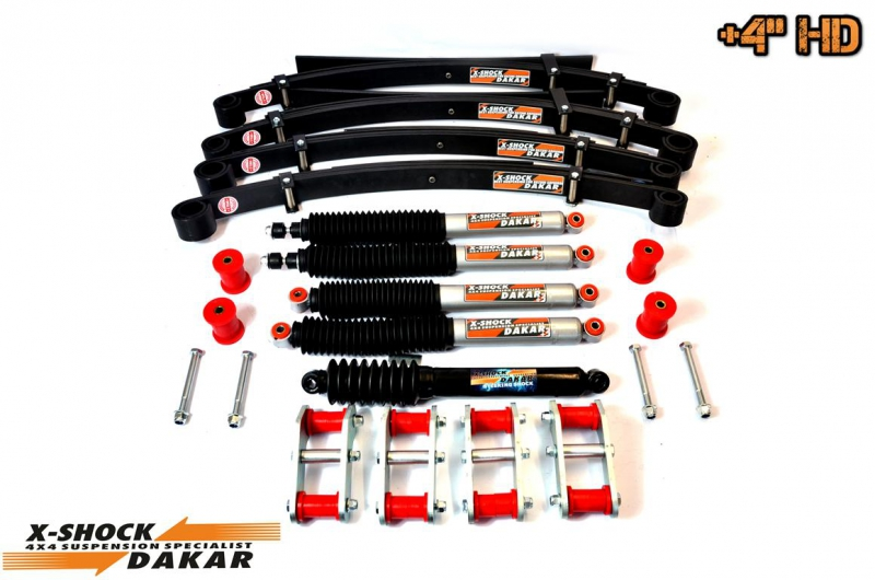 +4'' LIFT KIT HD PREMIUM SUZUKI SAMURAI