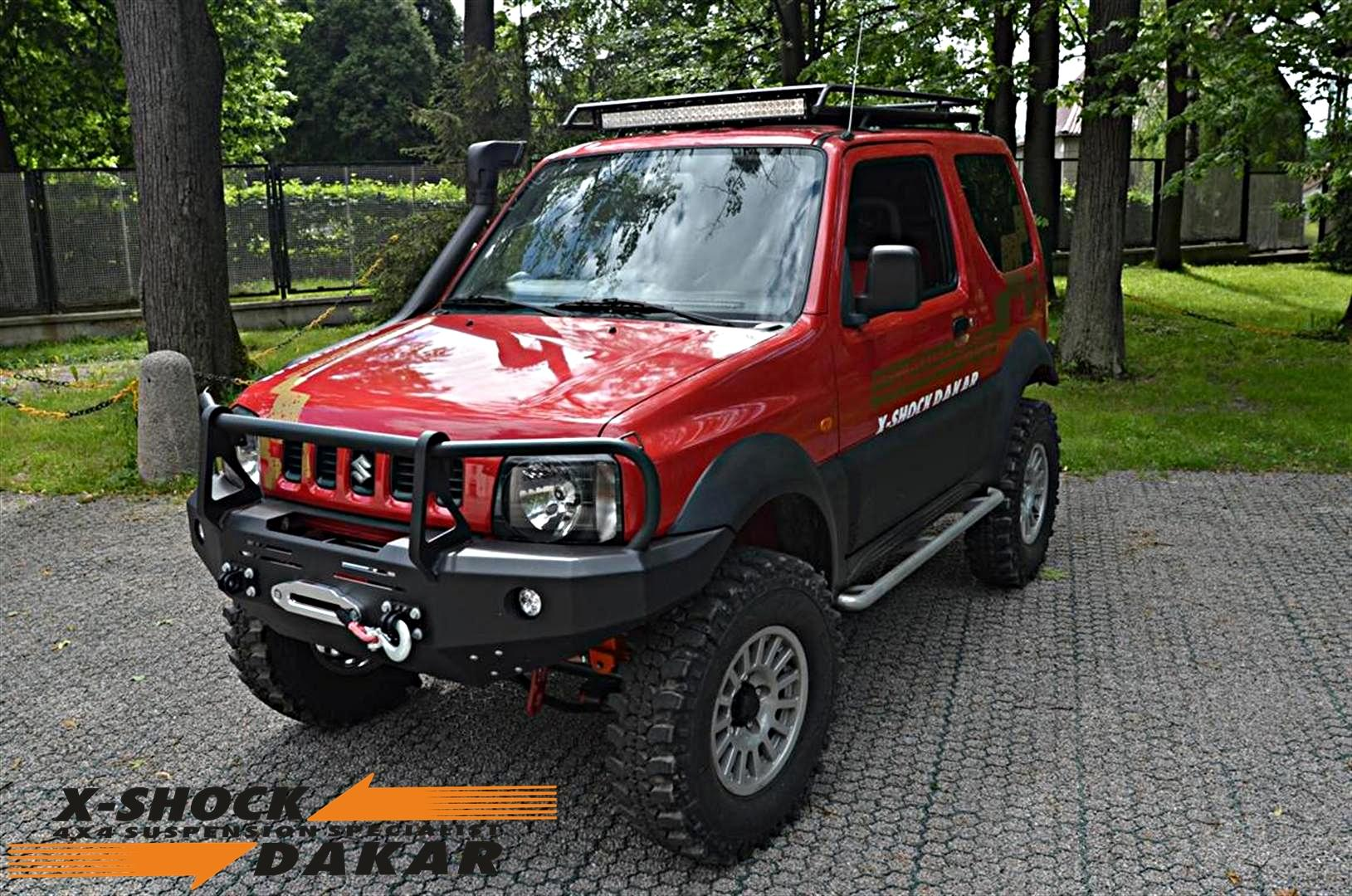suzuki  jimny suspension 12