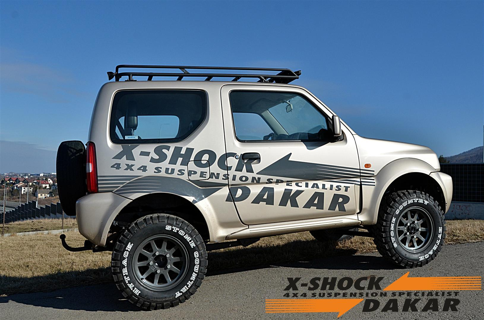 suzuki  jimny suspension 4
