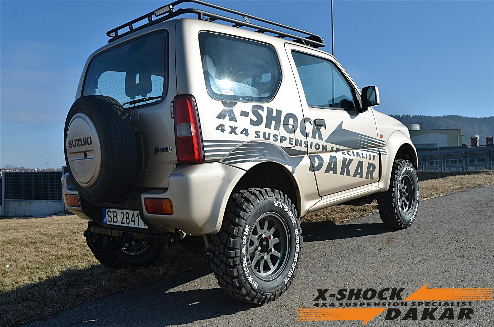 suzuki  jimny suspension 5