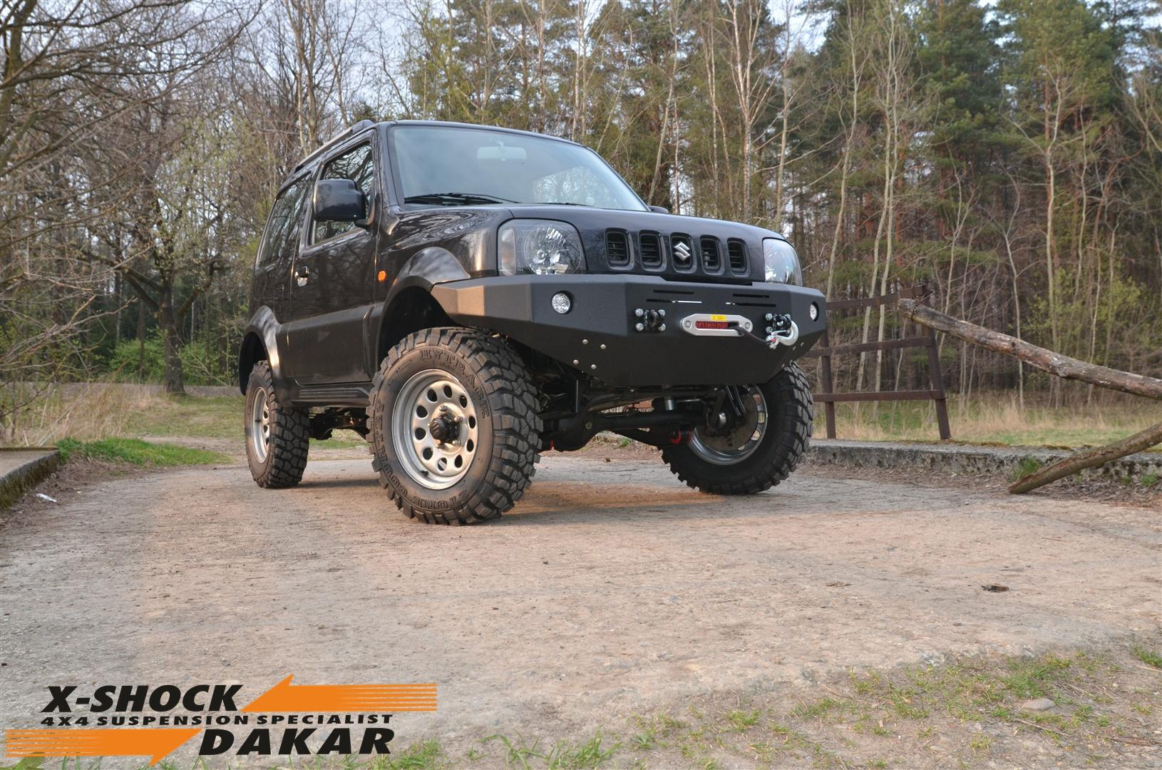 suzuki  jimny suspension 8